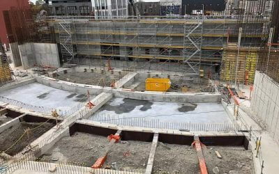 Christchurch Convention and Exhibition Centre takes shape