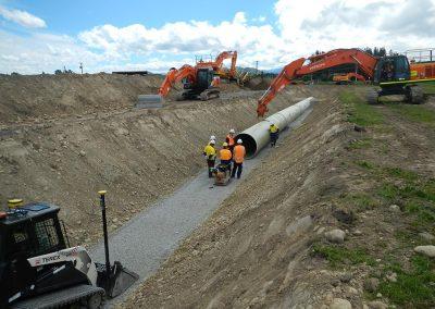 Amuri Irrigation Pipe Upgrade