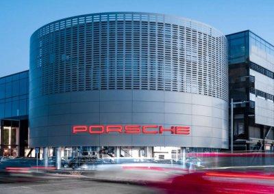 Porsche showroom and service centre